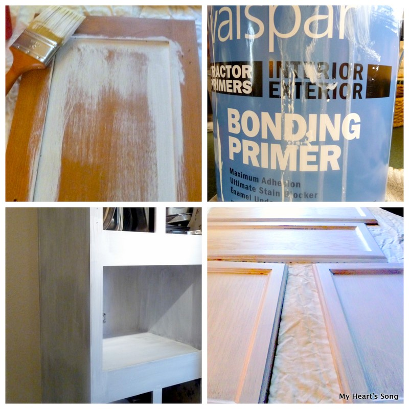 My Heart's Song: Kitchen Cabinets...Makeover Begins