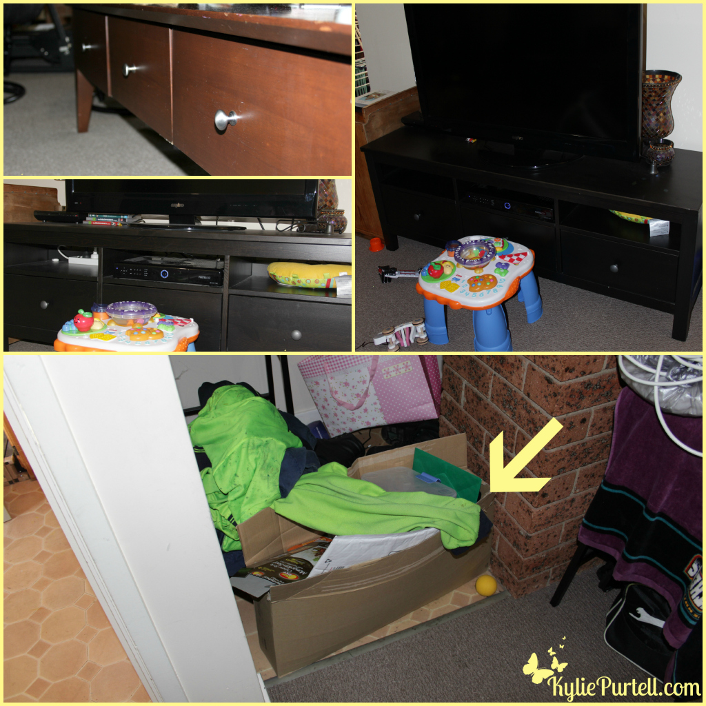 not so) wordless wednesday - baby proofing | kylie purtell