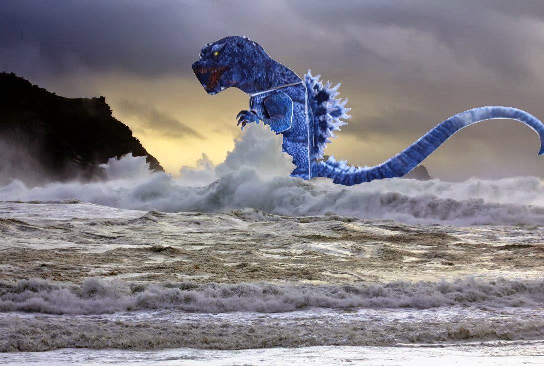 GMK Godzilla Paper Toy