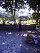 No parque...
