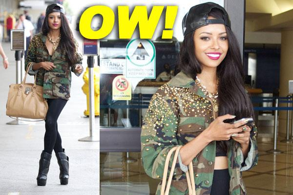 Kat Graham:the Epitome Of Street Style