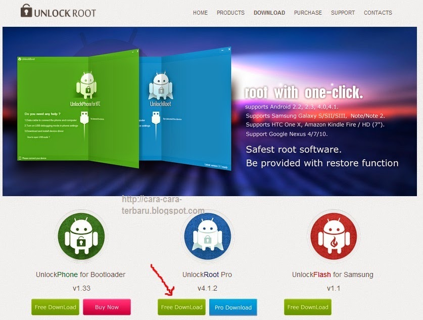 unlockroot, root android