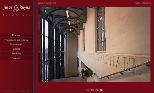 ver web de Jesús G. Reyes, fotografía profesional: eventos, viajes, foto industrial, personalidades, famosos, cantantes, arquitectura, culturas, infrarrojos BN, retratos, espectáculos, premios de fotografía...