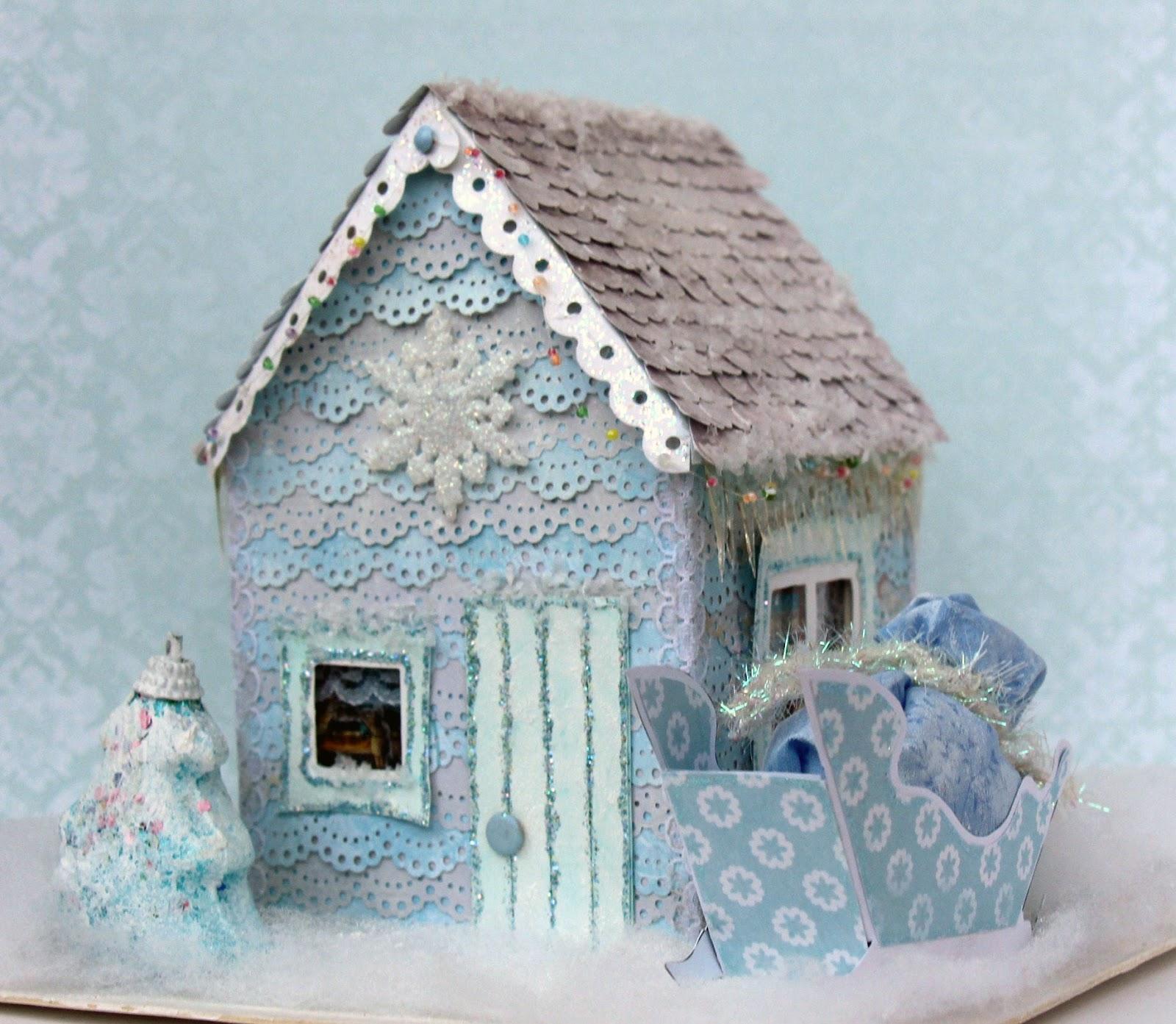 поделки дом деда мороза фото