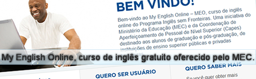 My English Online - Curso de ingls gratuito do MEC