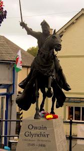 Owain Glyndwr in Corwen, North Wales!