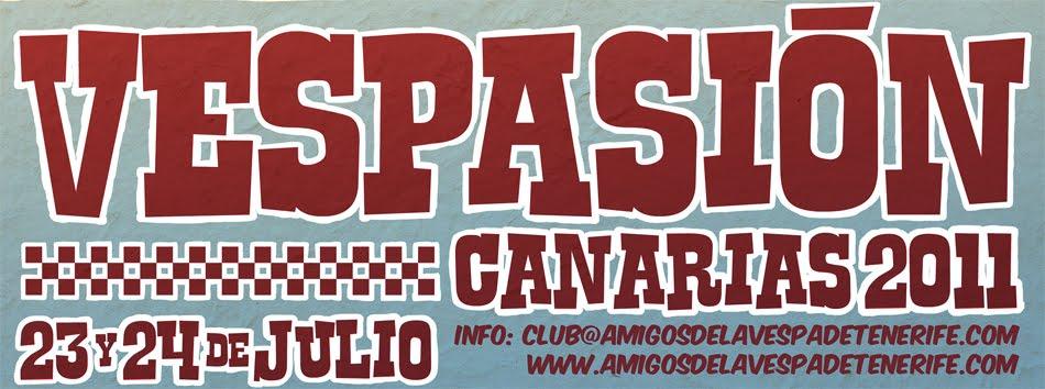 Vespasión Canarias 2011