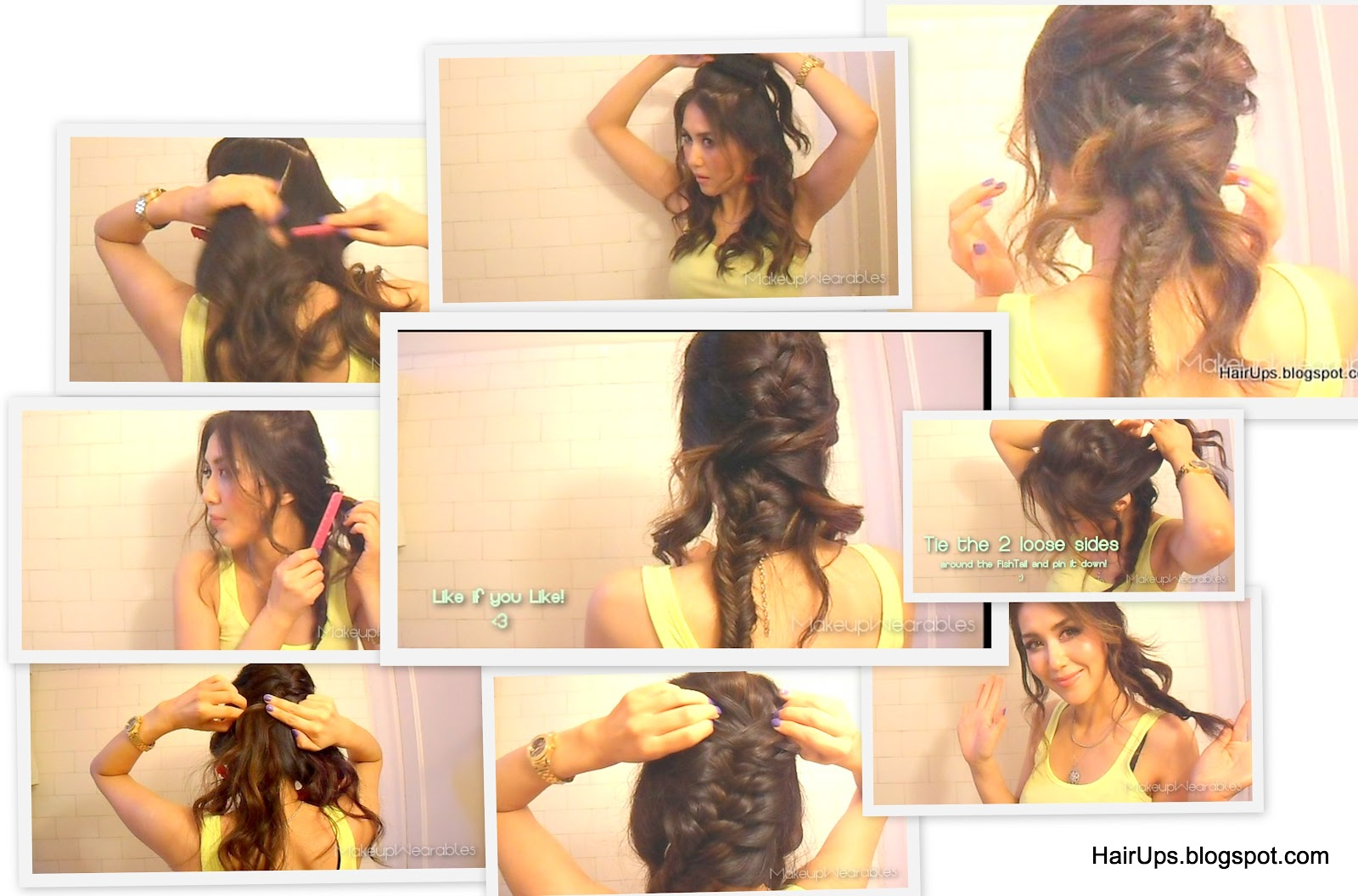 fishbone braid instructions - photo #2