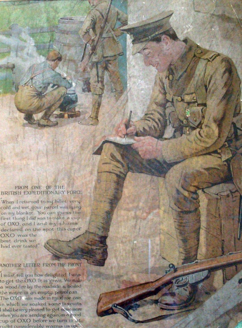 writing letters to soldiers