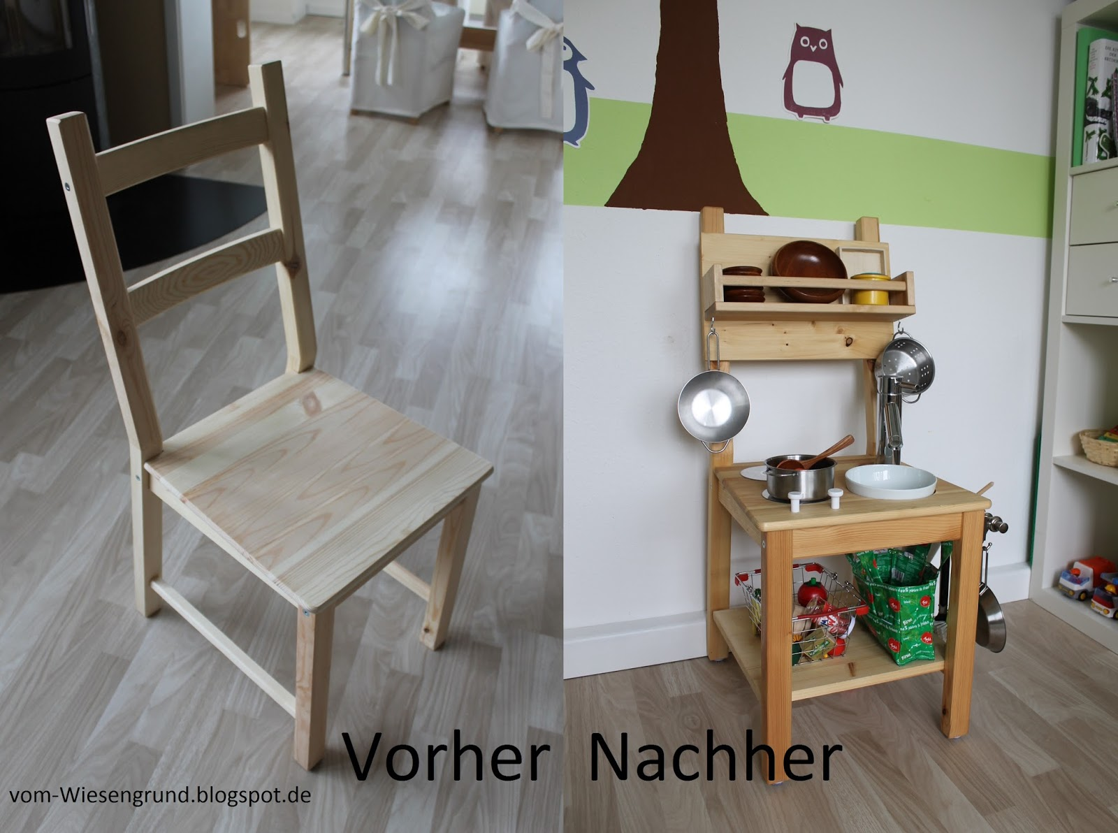 Vom Wiesengrund Kinderküche selbst gebaut