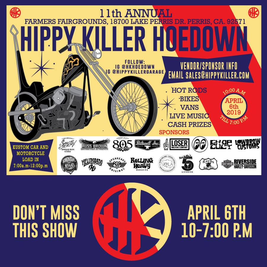 11th Annual Hippy Killer Hoedown