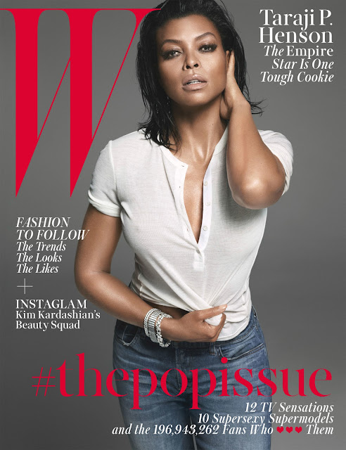 Taraji P Henson for W magazine season 2 september cookie empire