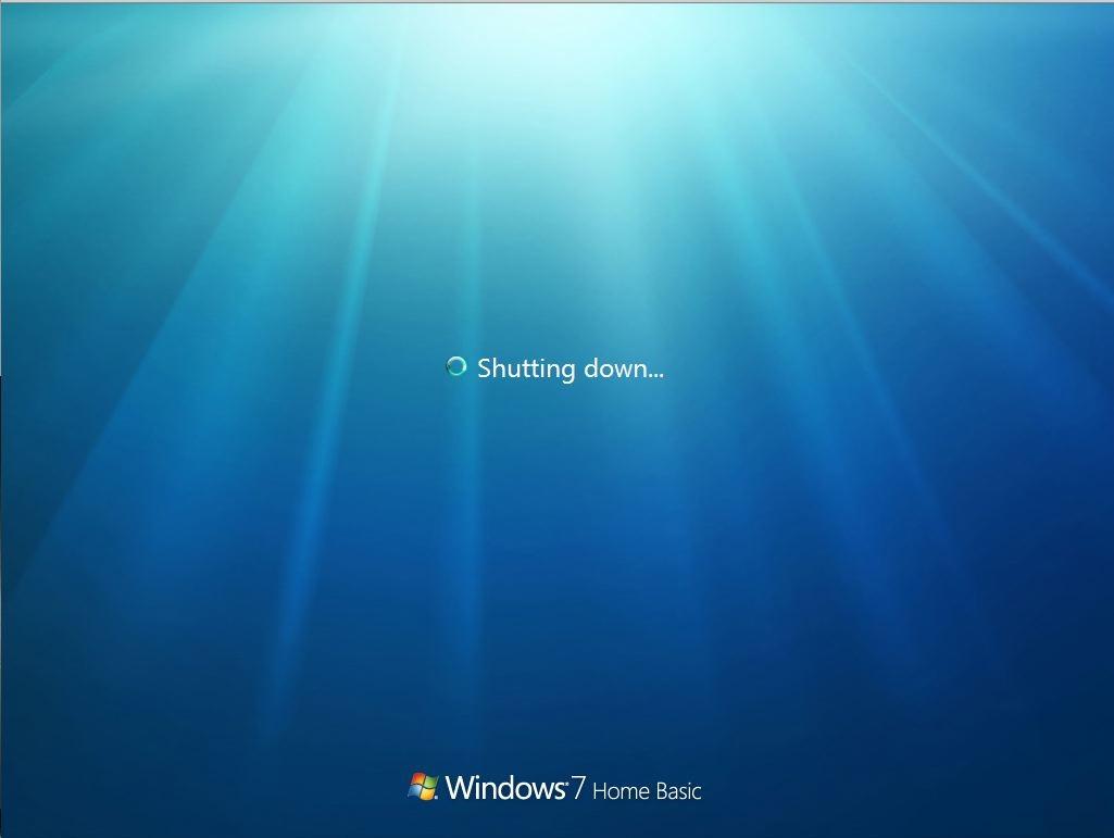 stop your window when unexpected shutdown