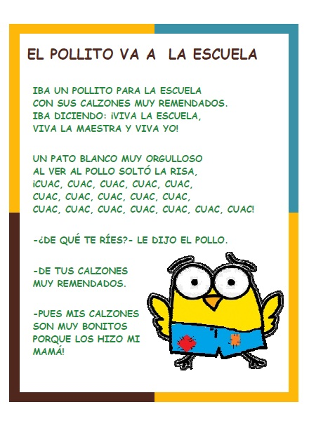 letra canciones los ninos:
