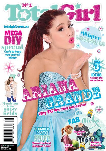 Ariana Grande Cover Girl