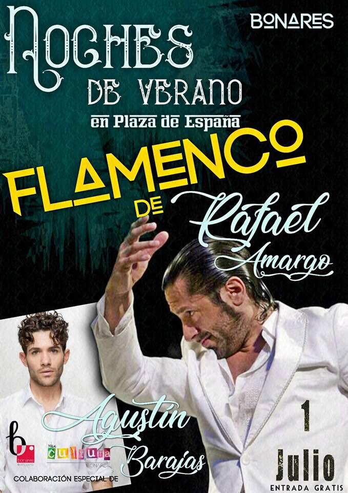 RAFAEL AMARGO EN LAS NOCHES DE VERANO CON FLAMENCO