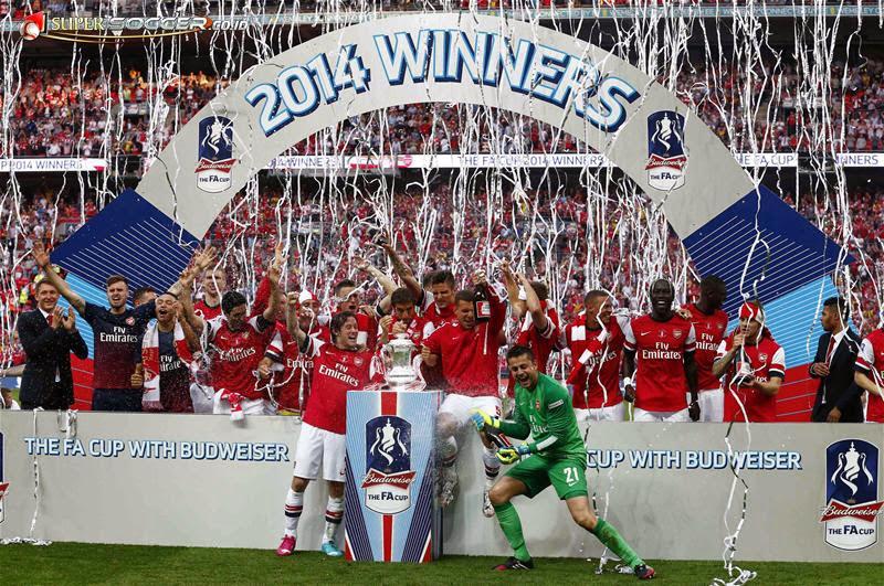 Arsenal Juara Piala FA Setelah Hampir 9 Tahun Berpuasa