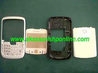 Aksesoris Hp Online: CASING BLACKBERRY 8520 GEMINI - ORIGINAL WHITE