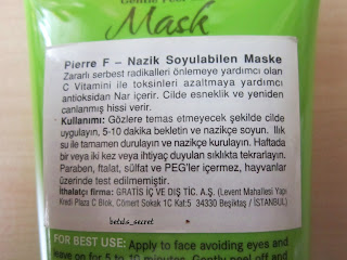 peel off mask kullanımı