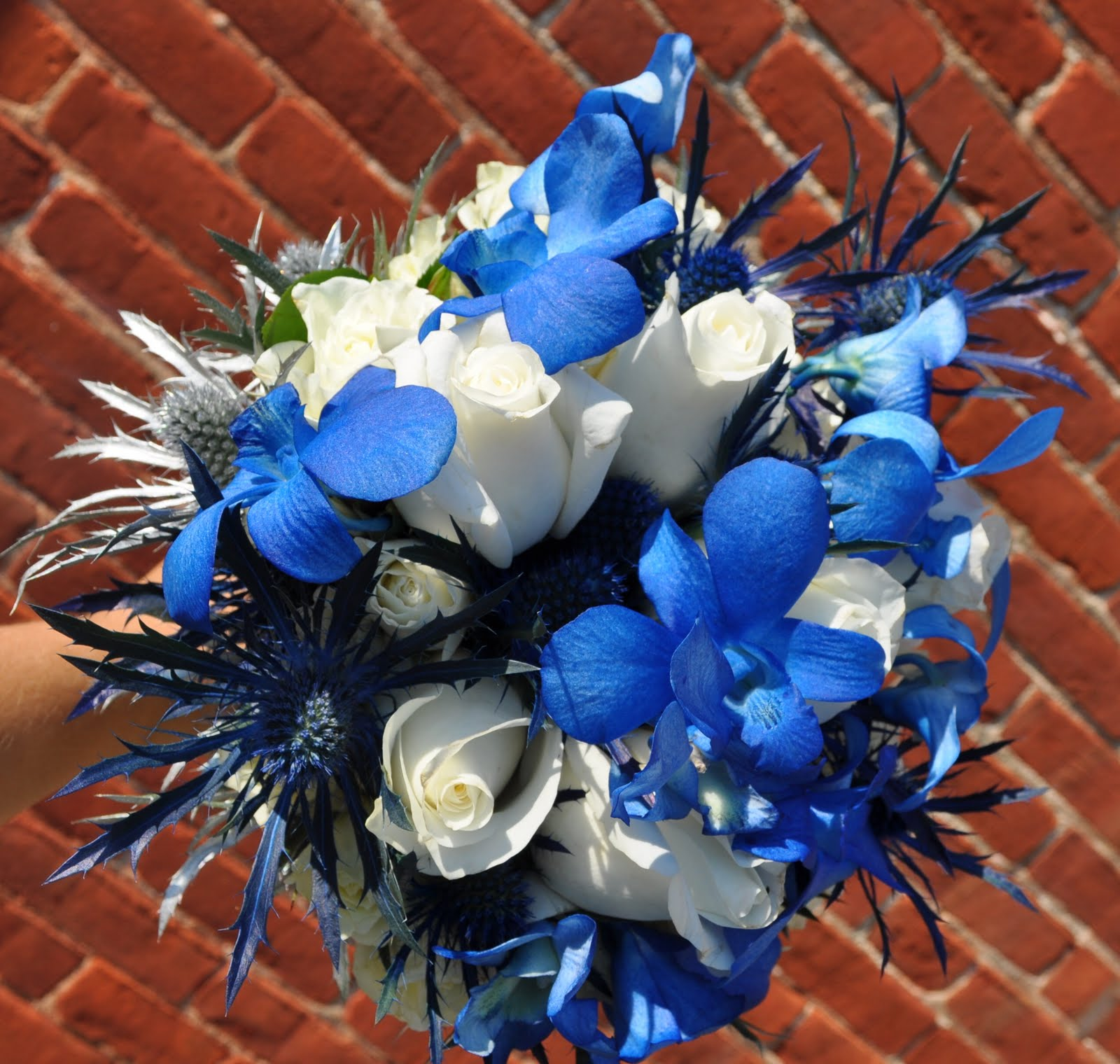 Blue wedding flowers in july best ideas about july flowers on june blue wedding flowers in july bold blue silver wedding bouquets columbus ohio izmirmasajfo Choice Image