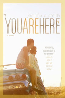 You Are Here Jennifer E Smith book cover