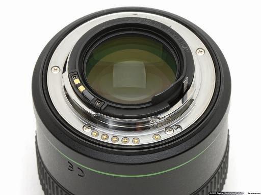 Pentax SMC DA* 55mm f/1.4 SDM