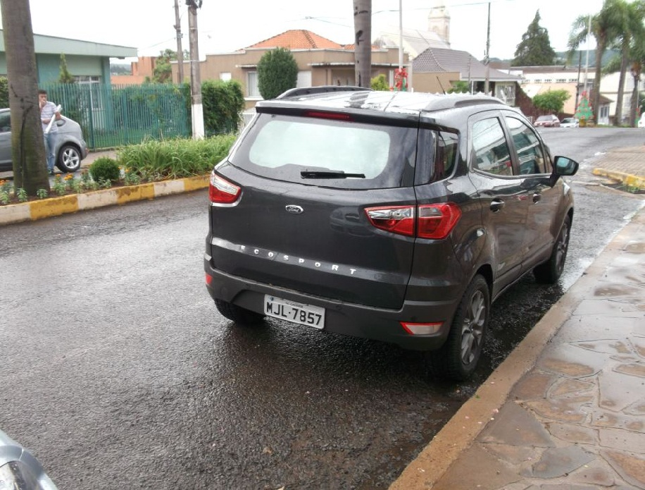 Do You Like The Ford Ecosport Without The Spare Wheel At The Tailgate