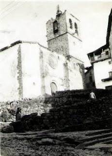 Candelario salamanca Iglesia en 1929