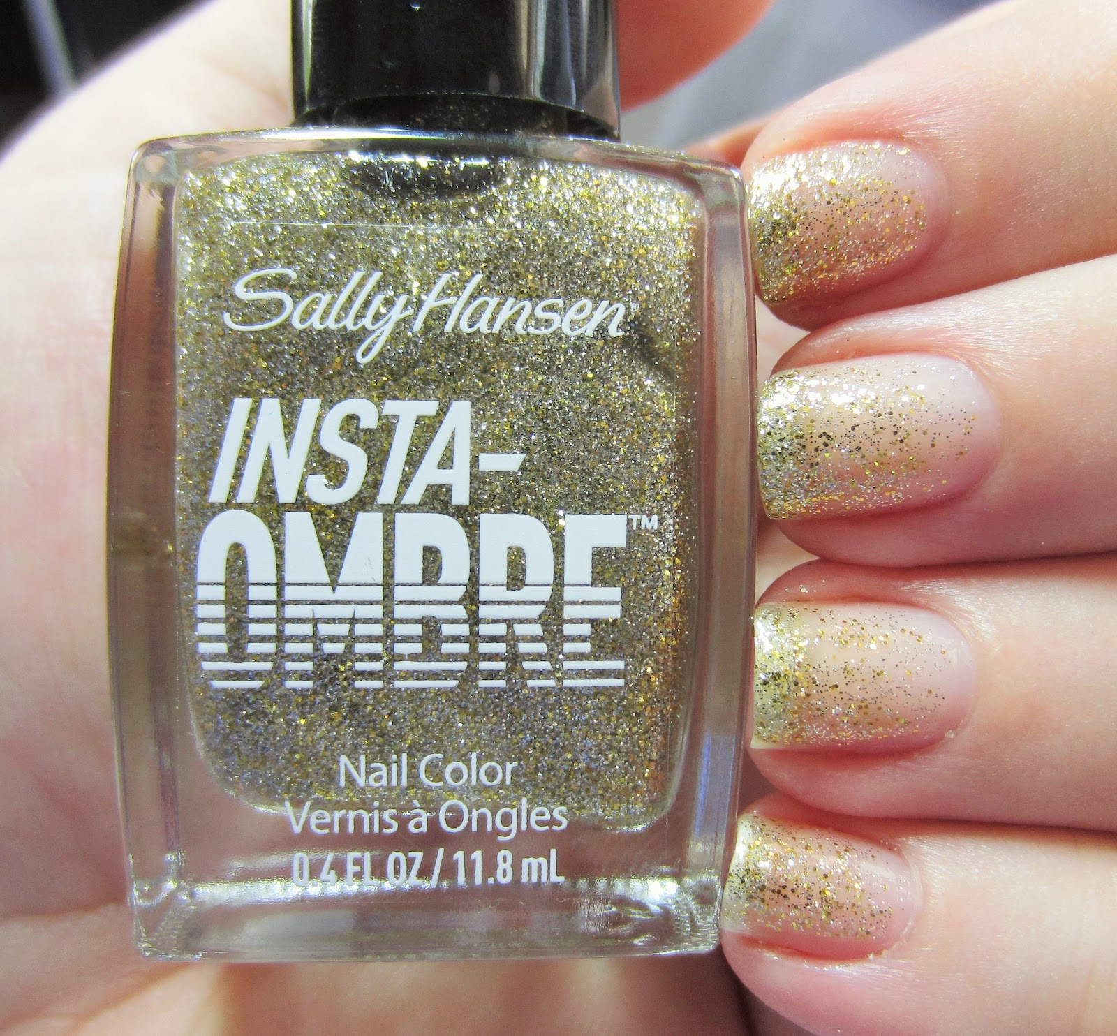 Polished with Pizzazz: Sally Hansen Insta-Ombre Polish