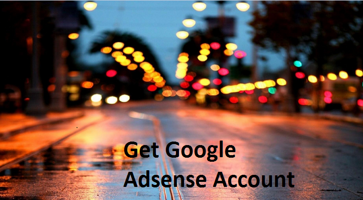 Get+Adsense+Account