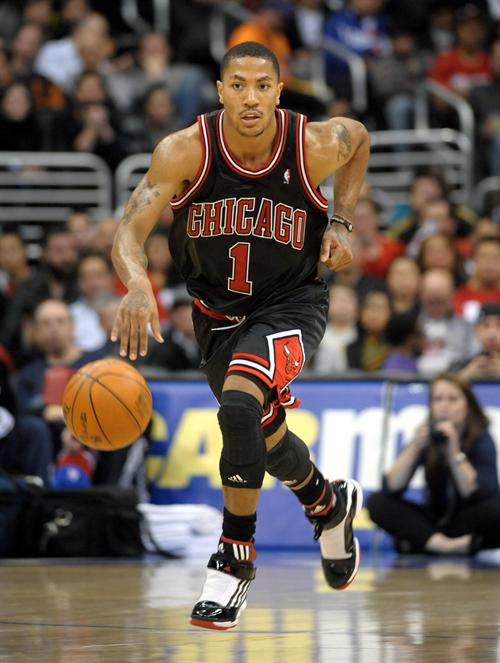 derrick rose chicago bulls. On this match, Derrick Rose