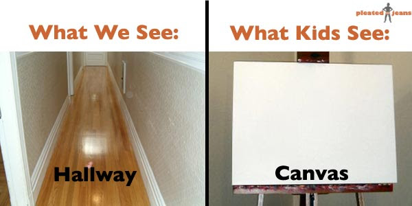 what we see, what kids see