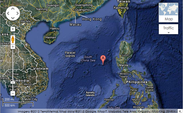 Treasure in Scarborough Shoal - Philippines