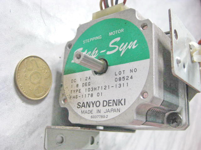 Stepper Motor Second Driver Stepper Sanyo Denki 1 2 Amp