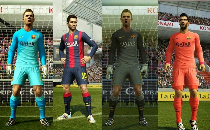 Barcelona - Download PES 2013 Kit Pack 2014/2015 Top Team Vol. 2 By Hardiyan ideas