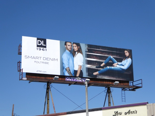 Smart Denim DL Tribe FW15 billboard