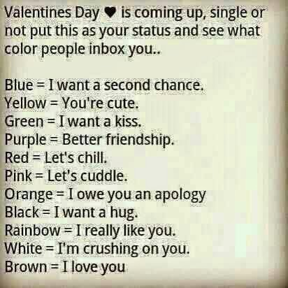 Valentines Day Is Coming Up Single Or Not Put This As Your Status