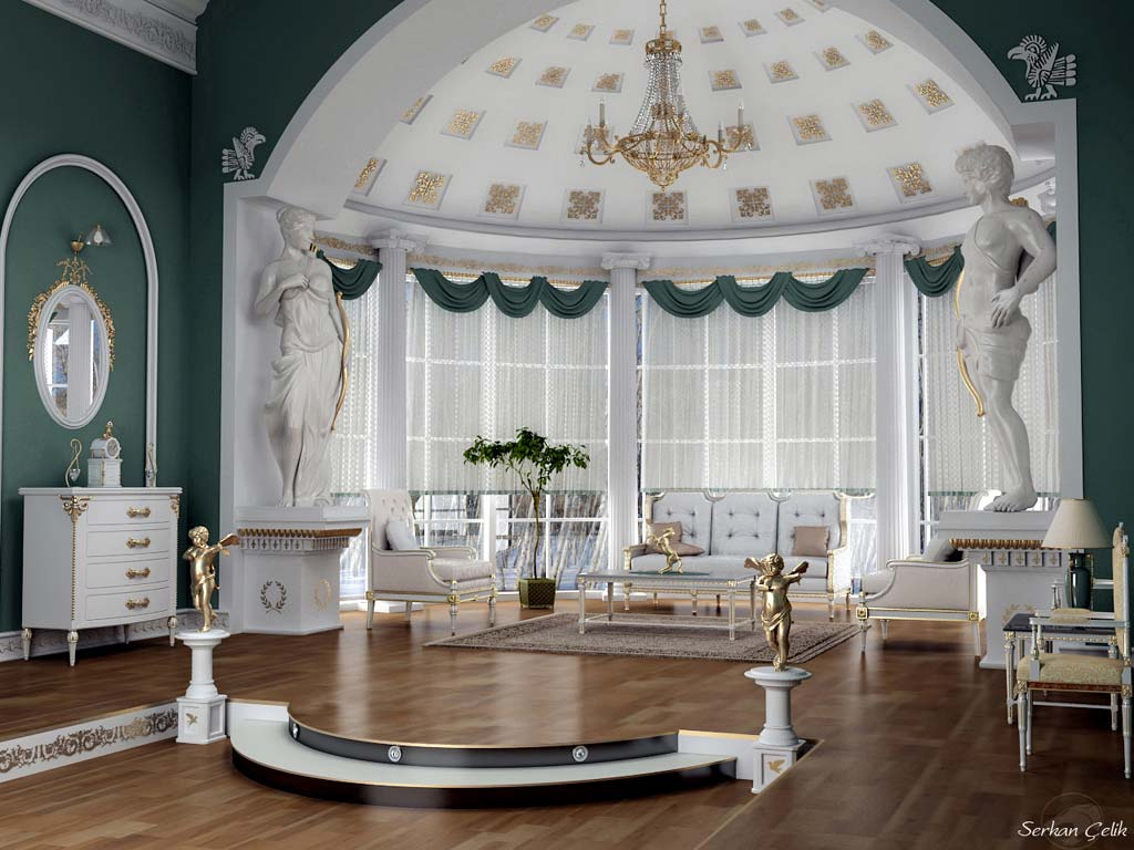 Calm Classic Luxury Living Room