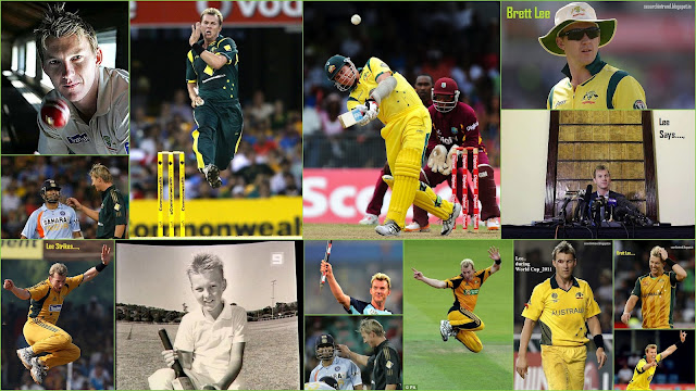 Brett Lee Retires quits International Cricket images Bowling song family Biography