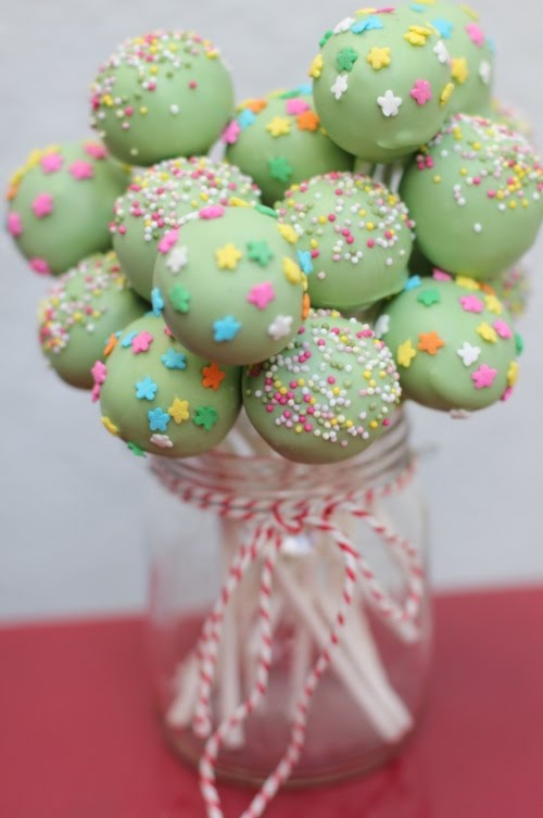 Easter Cake Pop Arrangements