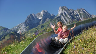Monte pilatus en suiza. Viajes en autocarvana
