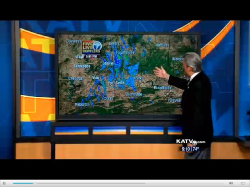 KATV Channel 7 Weather Radar