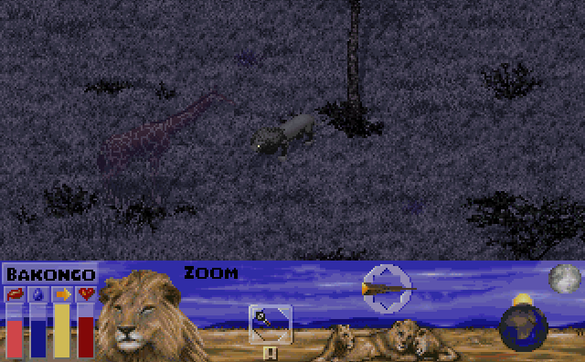 Lion Simulator MS-DOS game 1995