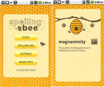 Spelling bee 243 apk full version apkapps all android apps descriptionspelling bee brought to you by socratica llc the developer that brought you periodic table countries of the world us presidents 50 states urtaz Choice Image