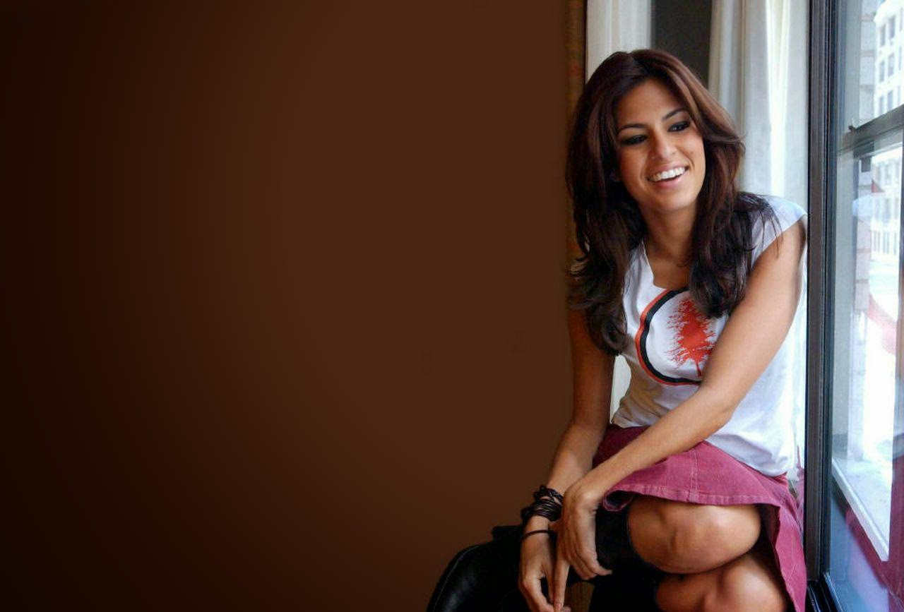Eva mendes cute smile super desktop images
