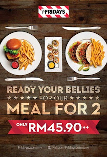 TGI Fridays Meals For Two 2