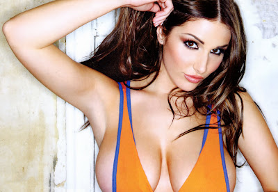 Lucy Pinder Topless Photoshoot