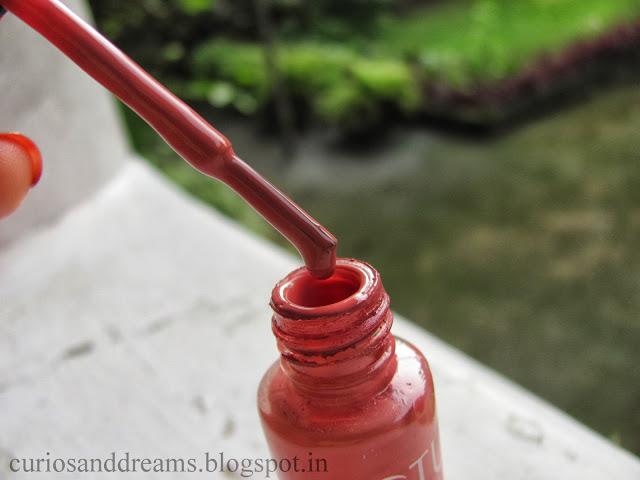 Lotus nail polish Candy Drop review, Lotus nail polish Candy Drop swatch