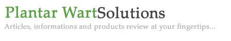 Plantar Wart Solutions