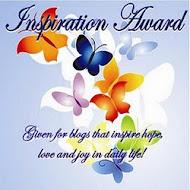 Βραβείο από την φίλη Katrina